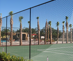 Tennis Court Fences in Orlando, FL